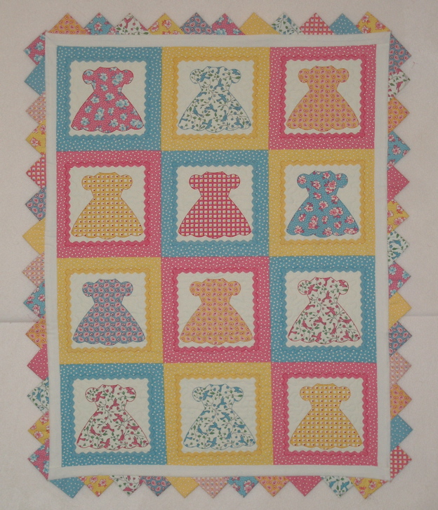 My Fabrics : doll dress quilt - Adamdwight.com